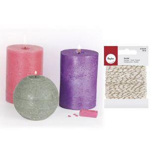 3 colorants solides pour bougies...