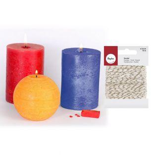 3 Farbstoff Fest für Kerze...
