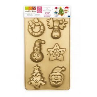 Christmas cake mold - ScrapCooking