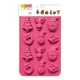 Stampo del cioccolato per Natale -...