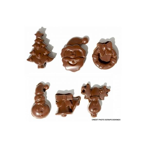 moule pour chocolats cuisine cr ative no l. Black Bedroom Furniture Sets. Home Design Ideas