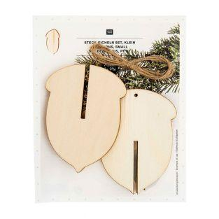 Wooden Christmas Decoration - 3...