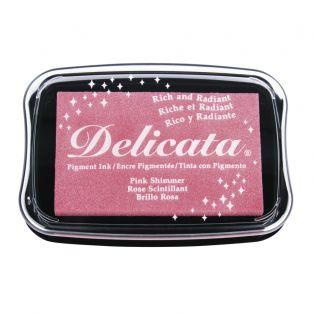 Stamp Pad Delicata - Glitter Pink
