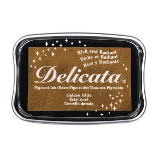 Stamp Pad Delicata - oro