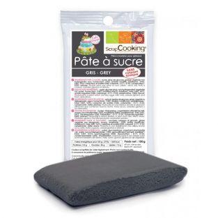 Gray sugarpaste - 100 g