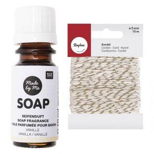 Scented oil for soap 10 ml Vanilla +...