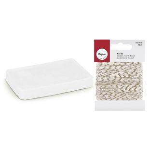 Molding soap 100 g Translucent +...