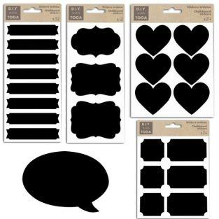 Kit stickers ardoise