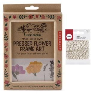 Holzrahmen für Blumen 13 x 17 cm +...