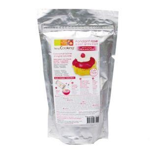 Raspberry icing sugarpaste fondant