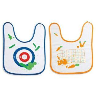 2 bibs for baby