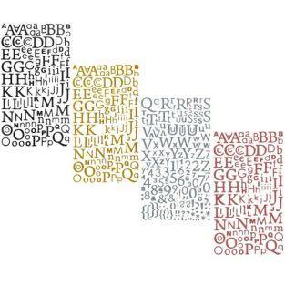 Kit de pegatinas alfabetos...