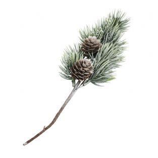 Ramo di abete con pino 24 cm