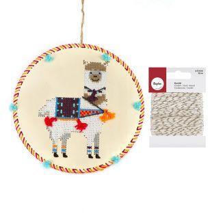 Kit suspensión de bordado Llama +...