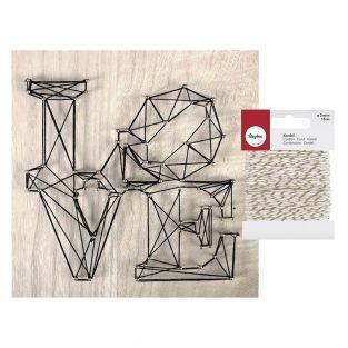 Cuadro de madera String Art Love 22 x...
