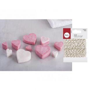 Soap-kneading kit Love + golden &...