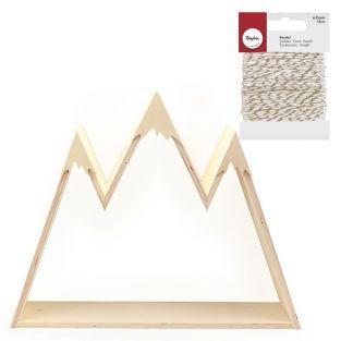 Mensola in legno da personalizzare...