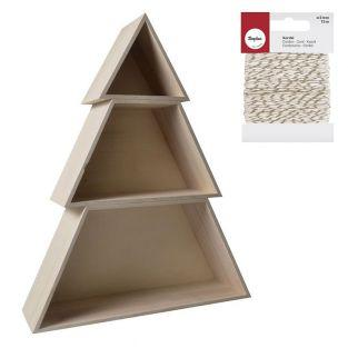 Wooden Christmas tree Shelves 48 x 14...