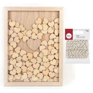 Cornice in legno personalizzabile 30...