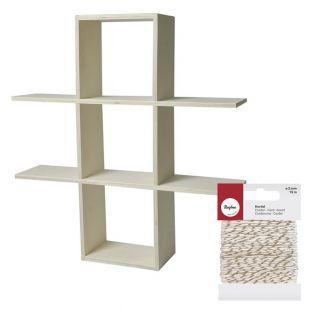 Wooden wall shelf to customize 2...