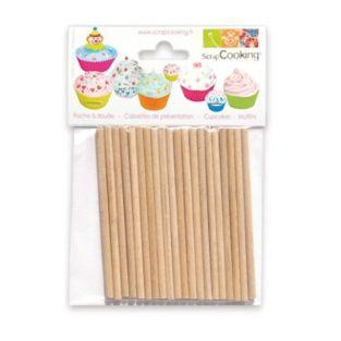 20 Lollipop Sticks for Cake Pops,...