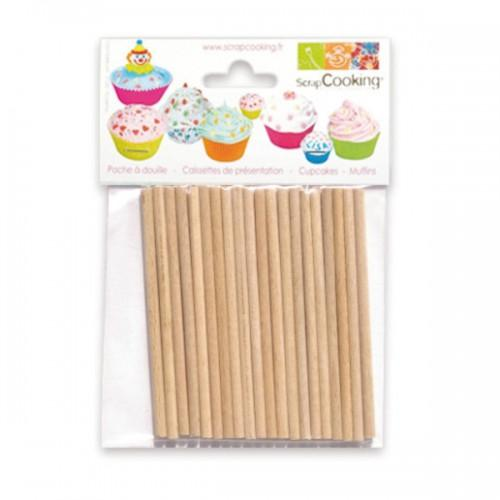 20 Lollipop Sticks for Cake Pops, Lollipop and Candy