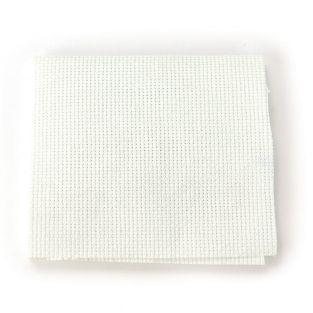 Tessuto Aida 5,5 punti / cm bianco 50...
