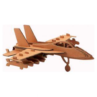 Maquette d'avion en carton 17,5 x...