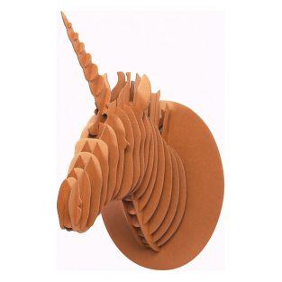 Cardboard Unicorn wall Trophy - XL 40...