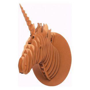 Cardboard Unicorn wall Trophy - XL 40...