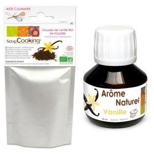 Arôme + poudre de Vanille