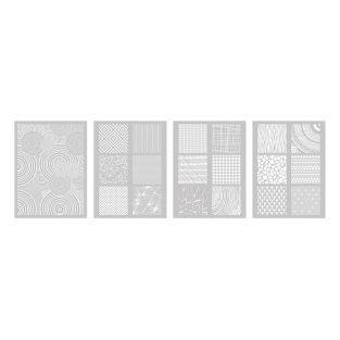 Schablone für Polymer-Ton 11,4 x 15,3...
