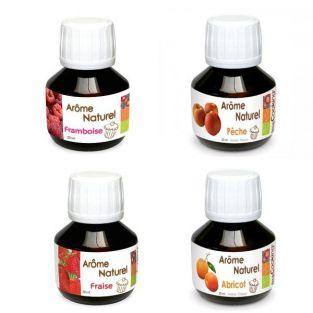Set of 4 spring food flavorings