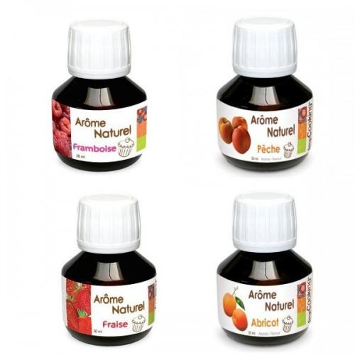 Coffret 4 arômes alimentaires printaniers