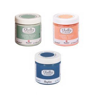 Chalky Finish Kreidefarbe 118 ml x 3...