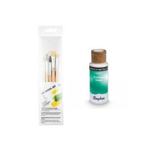Blue-green metal acrylic paint 59 ml...