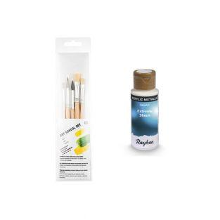 Saphirblaue Metall Acrylfarbe 59 ml +...