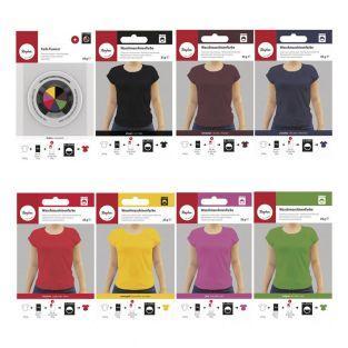 7 Farben für Waschmaschine und Fixierer