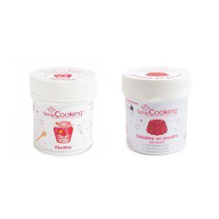 Pectin 50 g + gelatin 50 g