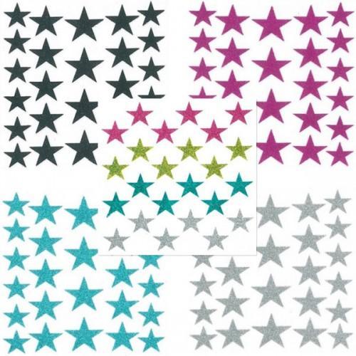 Pegatinas Estrellas con brillo