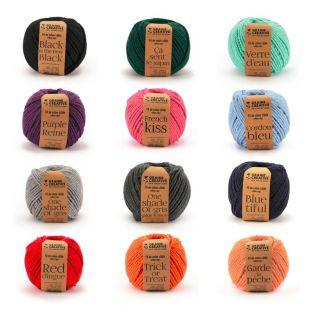 12 rocchetti di filo di cotone per...