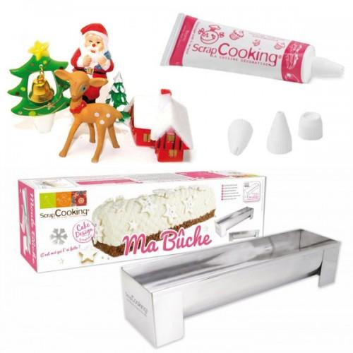 Kit Enchanted Christmas log