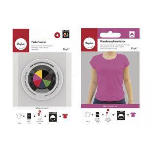 Washing machine fabric dye + color...