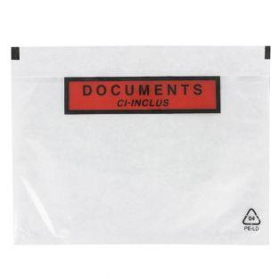 Dokumententasche A5 transparent
