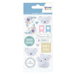 Stickers puffies - My little baby