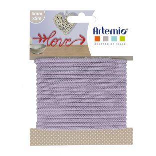 Knitting yarn 5 mm x 5 m - Lavender