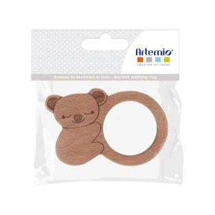 Wooden teething ring - Koala - 100 x...