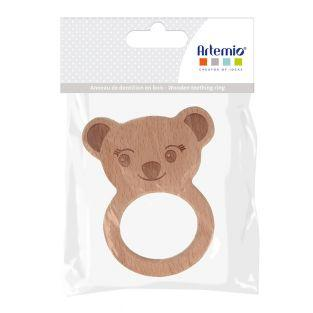Wooden teething ring - Koala - 90 x...
