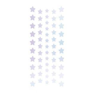 4 stickers holographiques étoiles
