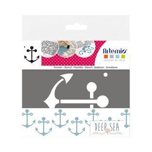 Plantilla - Anclaje de barcos
